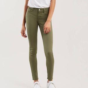 Levis 710 super skinny jeans size 27/ 30